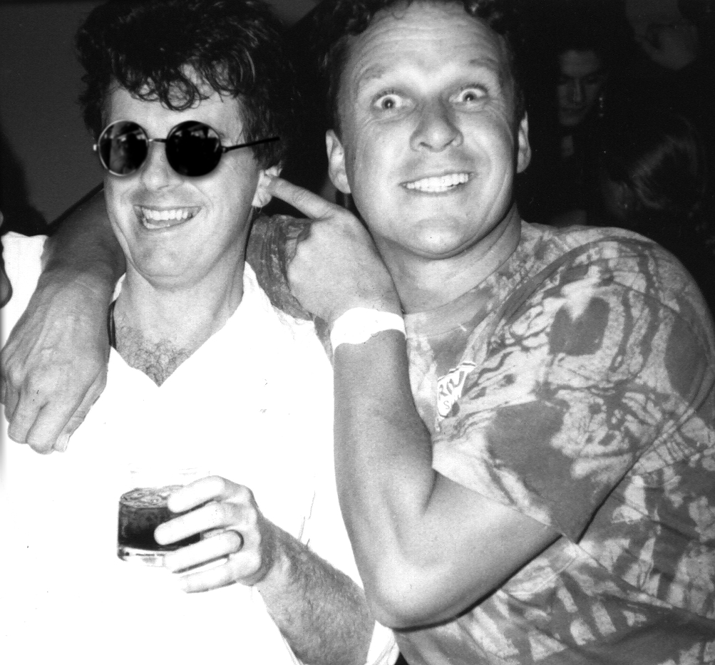 Peter and Shirl- Sth Yarra - End of tour party. Bang! was dedicated to the late great Shirl of Skyhooks